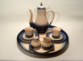 Kaffeservice laget av John Mæland
